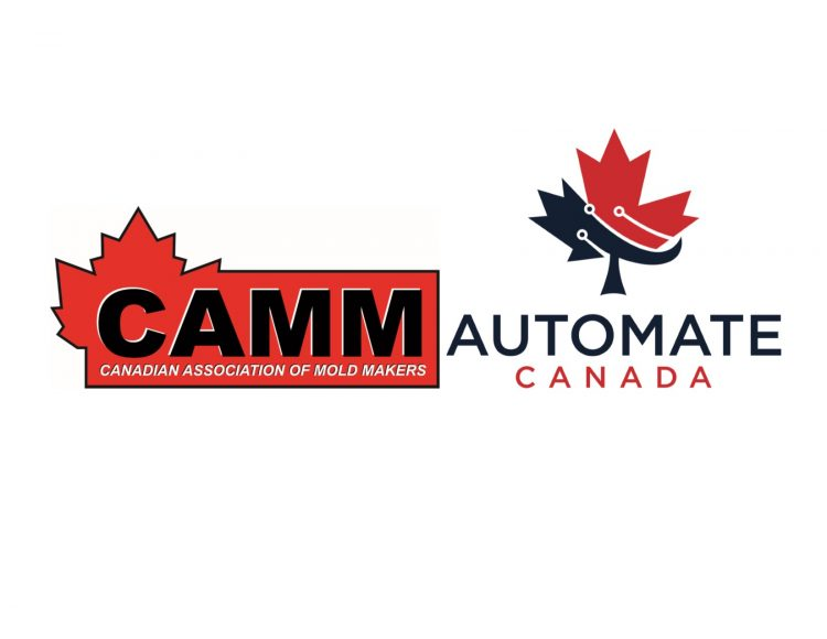 Canadian Association of Mold Makers and Automate Canada logo